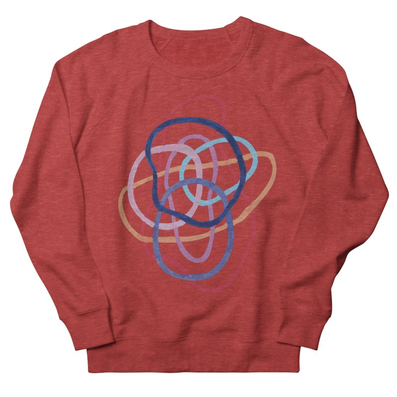 abstract 2 Men's French Terry Sweatshirt by sebastiansrd's Artist Shop