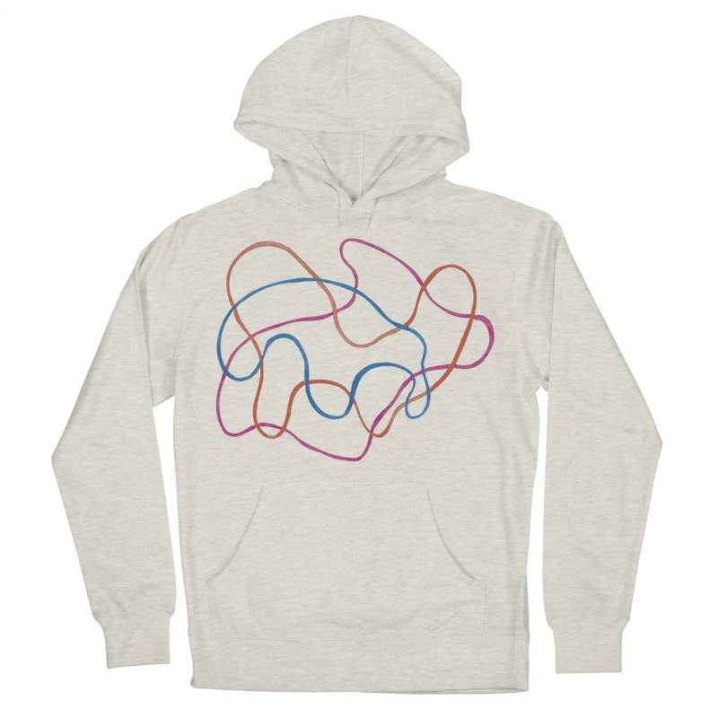 abstract 3 Women's French Terry Pullover Hoody by sebastiansrd's Artist Shop