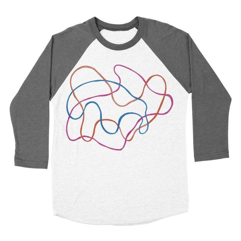 abstract 3 Men's Baseball Triblend Longsleeve T-Shirt by sebastiansrd's Artist Shop