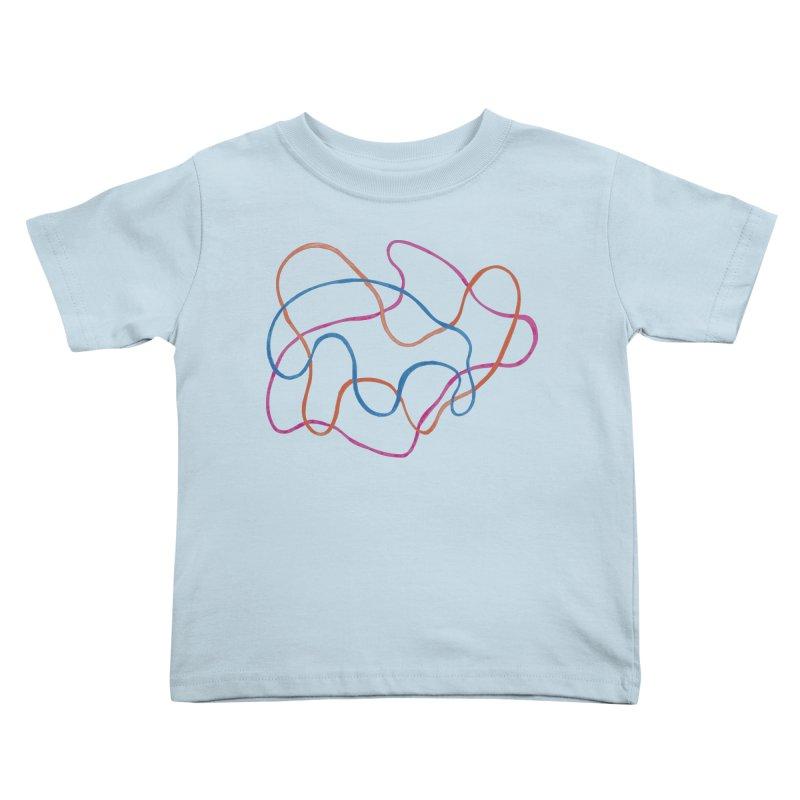 abstract 3 Kids Toddler T-Shirt by sebastiansrd's Artist Shop