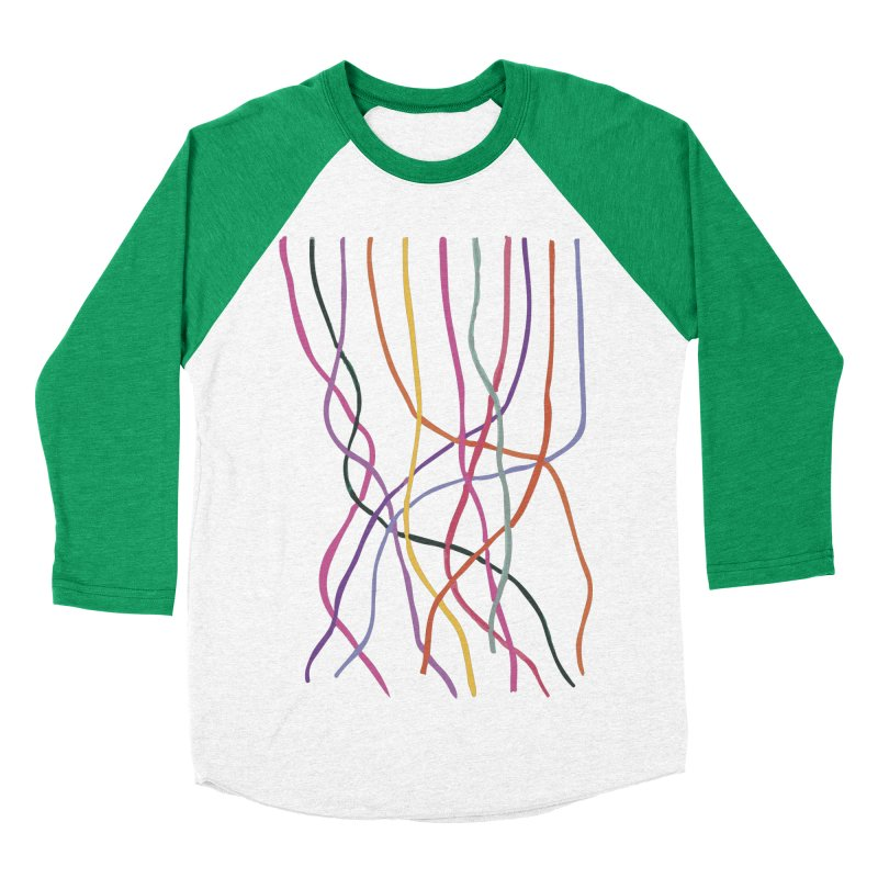 abstract 4 Men's Baseball Triblend Longsleeve T-Shirt by sebastiansrd's Artist Shop