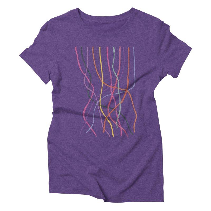 abstract 4 Women's Triblend T-Shirt by sebastiansrd's Artist Shop