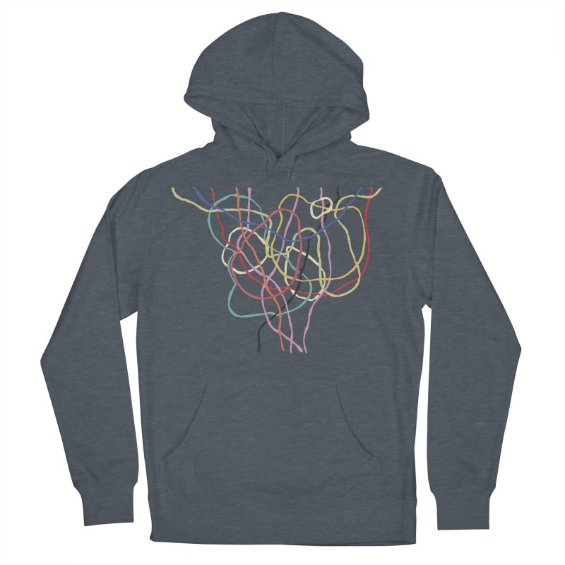 abstract 5 Women's French Terry Pullover Hoody by sebastiansrd's Artist Shop