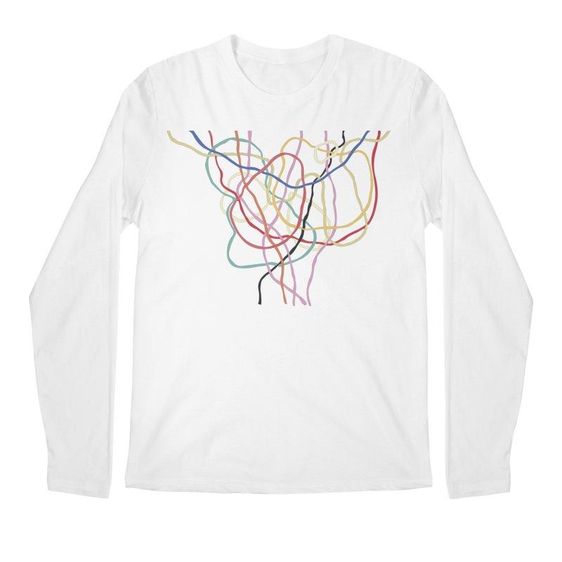 abstract 5 Men's Regular Longsleeve T-Shirt by sebastiansrd's Artist Shop