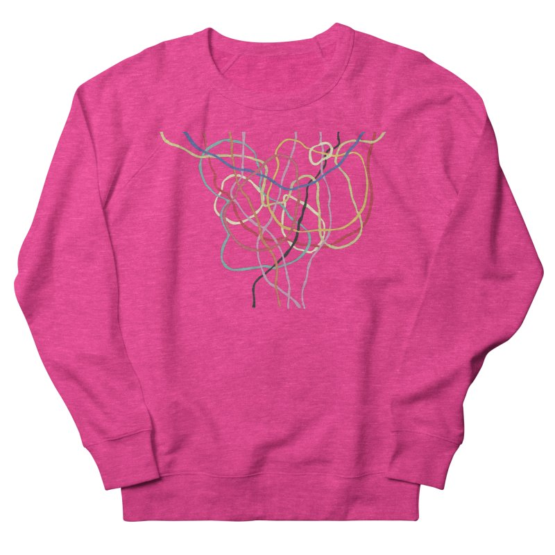 abstract 5 Women's French Terry Sweatshirt by sebastiansrd's Artist Shop