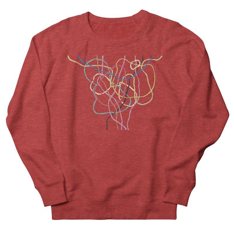 abstract 5 Men's French Terry Sweatshirt by sebastiansrd's Artist Shop