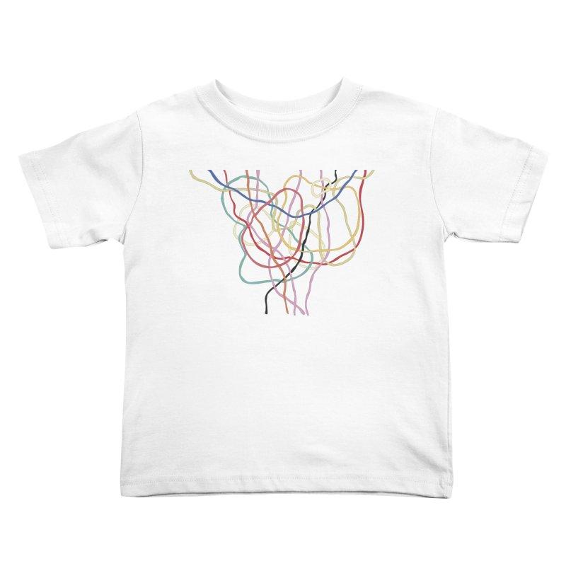 abstract 5 Kids Toddler T-Shirt by sebastiansrd's Artist Shop