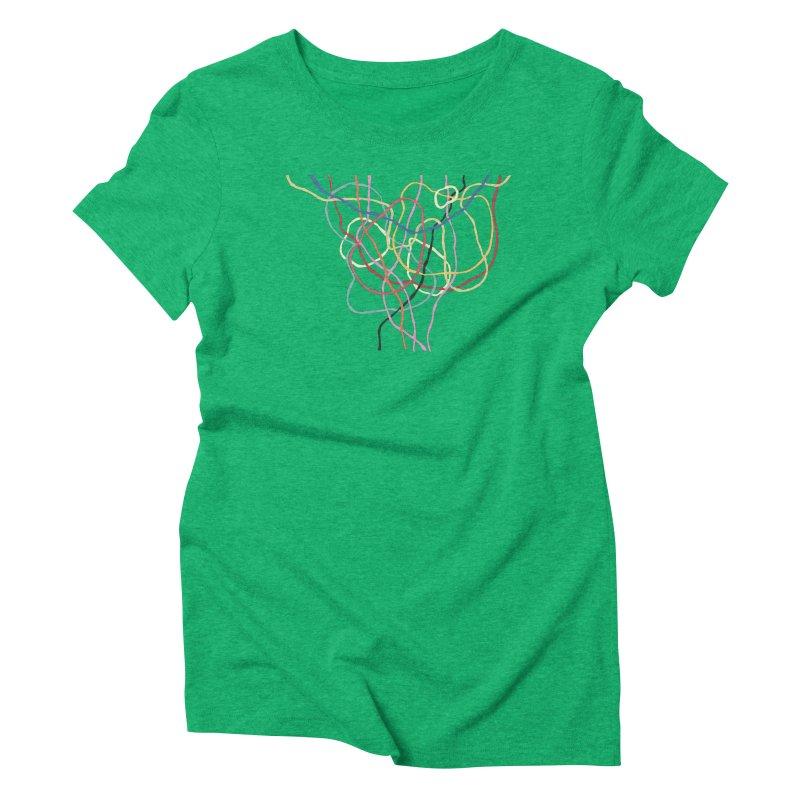 abstract 5 Women's Triblend T-Shirt by sebastiansrd's Artist Shop