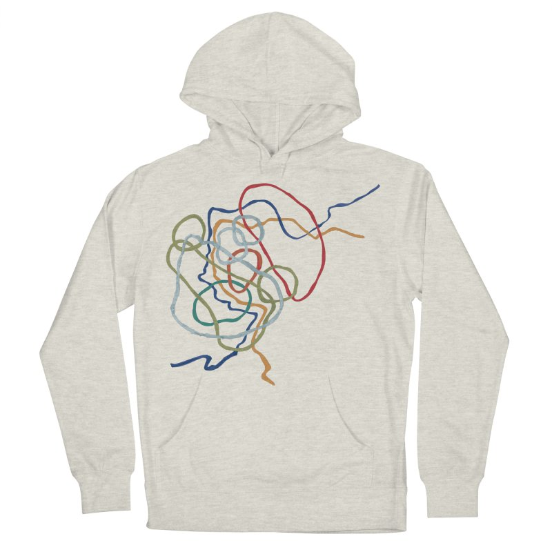 abstract 6 Women's French Terry Pullover Hoody by sebastiansrd's Artist Shop