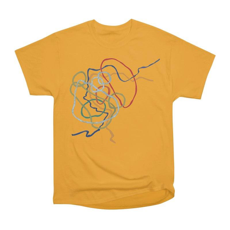 abstract 6 Women's Heavyweight Unisex T-Shirt by sebastiansrd's Artist Shop