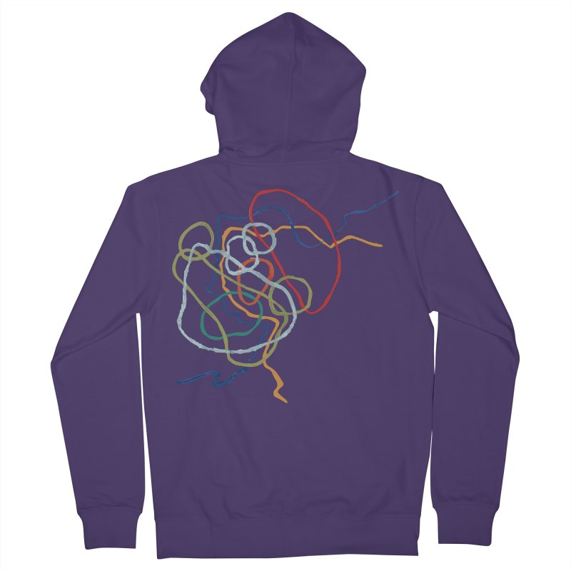 abstract 6 Women's French Terry Zip-Up Hoody by sebastiansrd's Artist Shop
