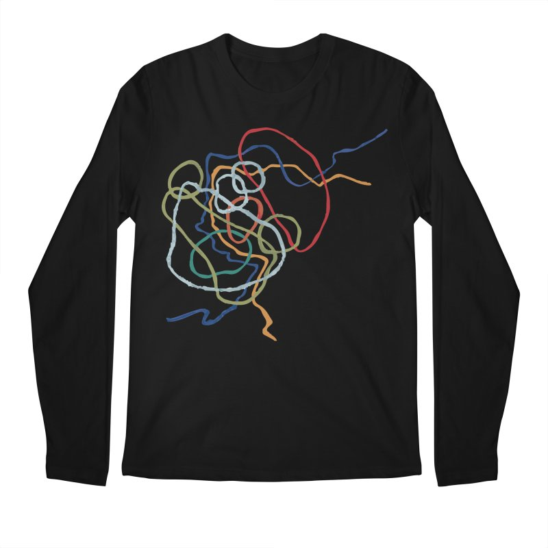 abstract 6 Men's Regular Longsleeve T-Shirt by sebastiansrd's Artist Shop