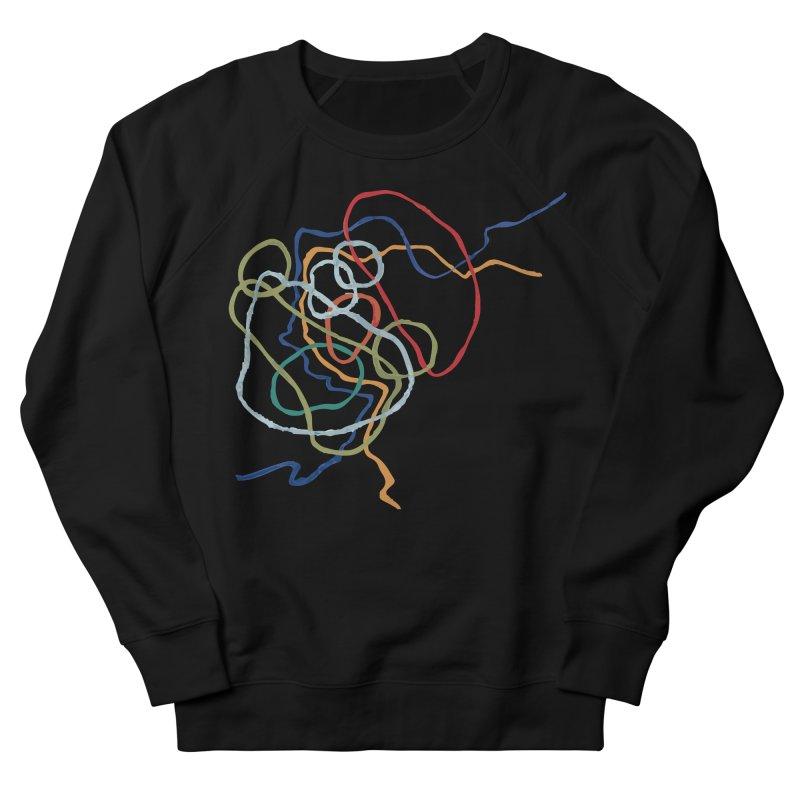abstract 6 Women's French Terry Sweatshirt by sebastiansrd's Artist Shop