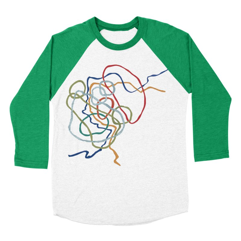 abstract 6 Men's Baseball Triblend Longsleeve T-Shirt by sebastiansrd's Artist Shop