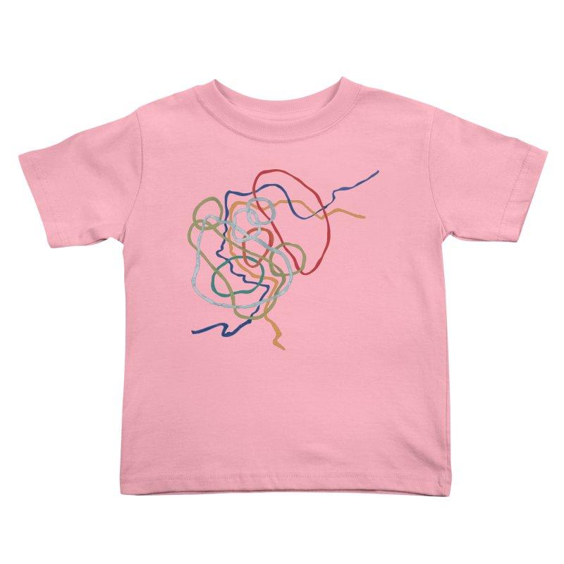 abstract 6 Kids Toddler T-Shirt by sebastiansrd's Artist Shop
