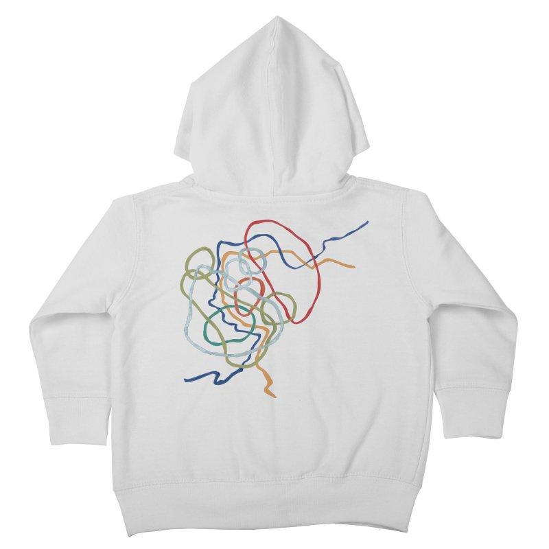 abstract 6 Kids Toddler Zip-Up Hoody by sebastiansrd's Artist Shop