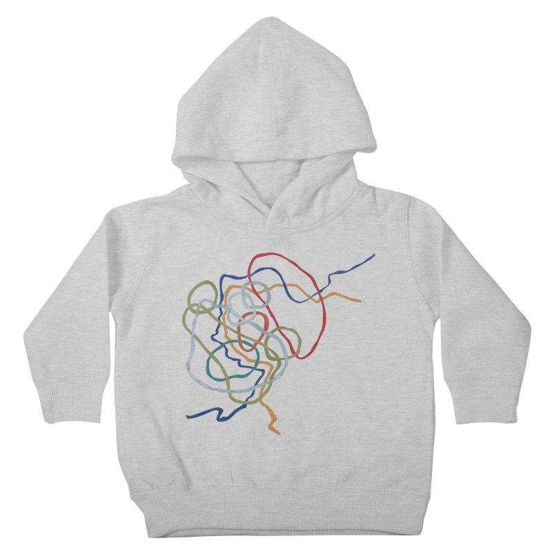 abstract 6 Kids Toddler Pullover Hoody by sebastiansrd's Artist Shop