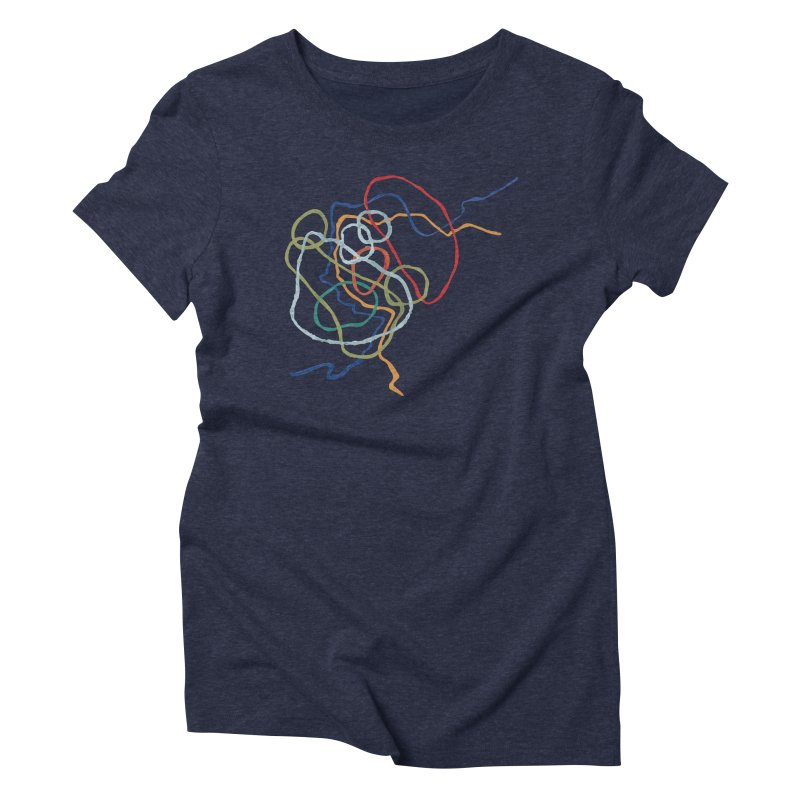 abstract 6 Women's Triblend T-Shirt by sebastiansrd's Artist Shop
