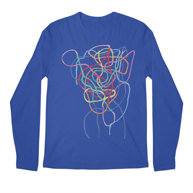 abstract 7 Men's Regular Longsleeve T-Shirt by sebastiansrd's Artist Shop