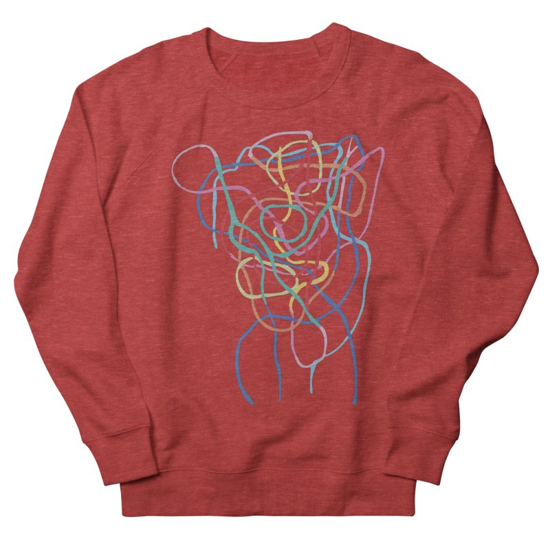 abstract 7 Women's French Terry Sweatshirt by sebastiansrd's Artist Shop
