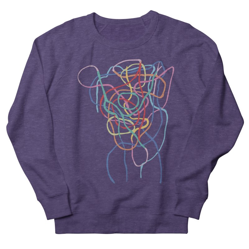 abstract 7 Men's French Terry Sweatshirt by sebastiansrd's Artist Shop