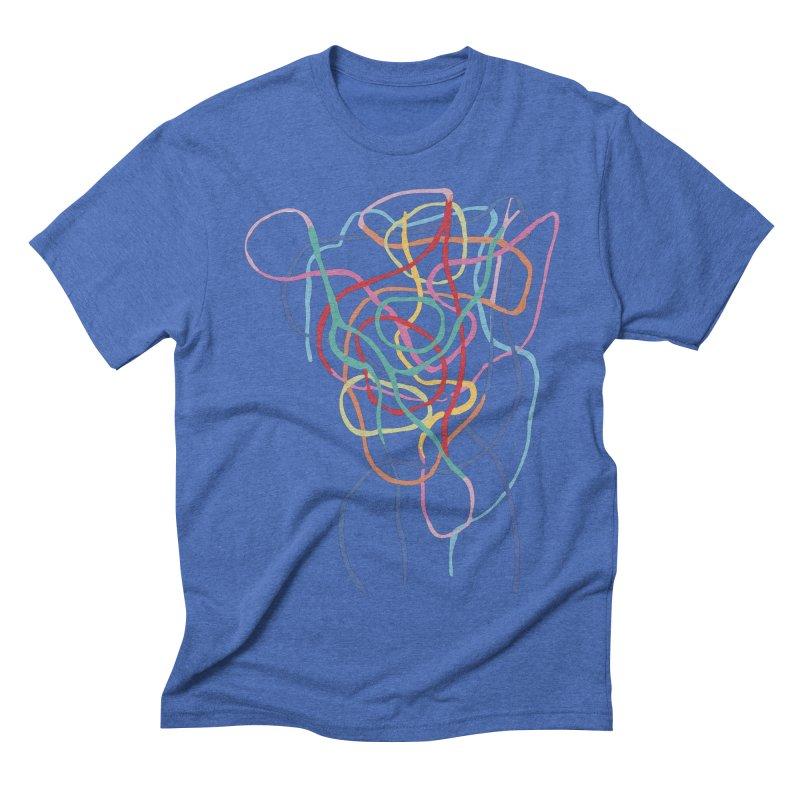 abstract 7 Men's Triblend T-Shirt by sebastiansrd's Artist Shop
