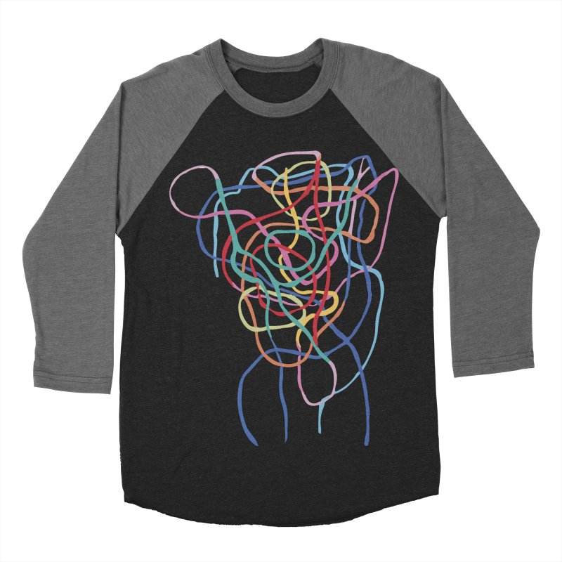 abstract 7 Men's Baseball Triblend Longsleeve T-Shirt by sebastiansrd's Artist Shop