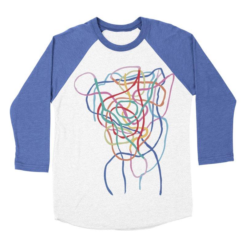 abstract 7 Men's Baseball Triblend Longsleeve T-Shirt by sebastiansrd's Artist Shop