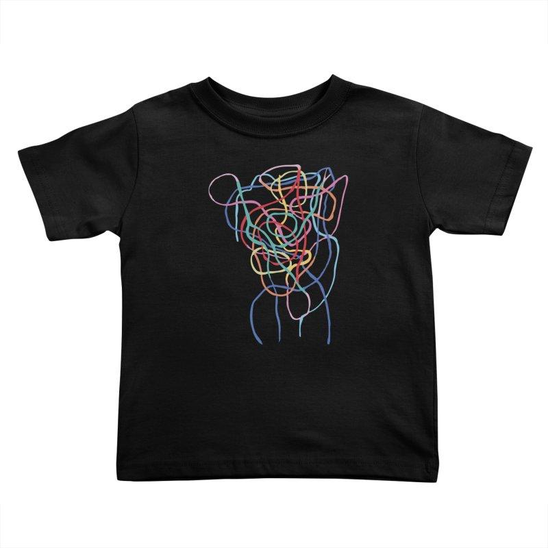 abstract 7 Kids Toddler T-Shirt by sebastiansrd's Artist Shop
