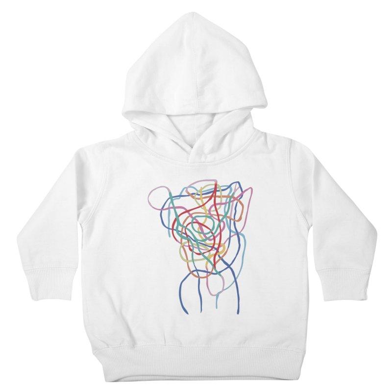 abstract 7 Kids Toddler Pullover Hoody by sebastiansrd's Artist Shop