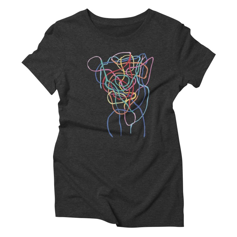 abstract 7 Women's Triblend T-Shirt by sebastiansrd's Artist Shop