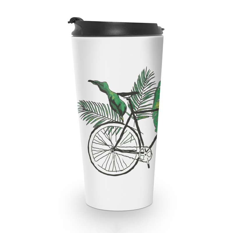bike with plants Accessories Travel Mug by sebastiansrd's Artist Shop