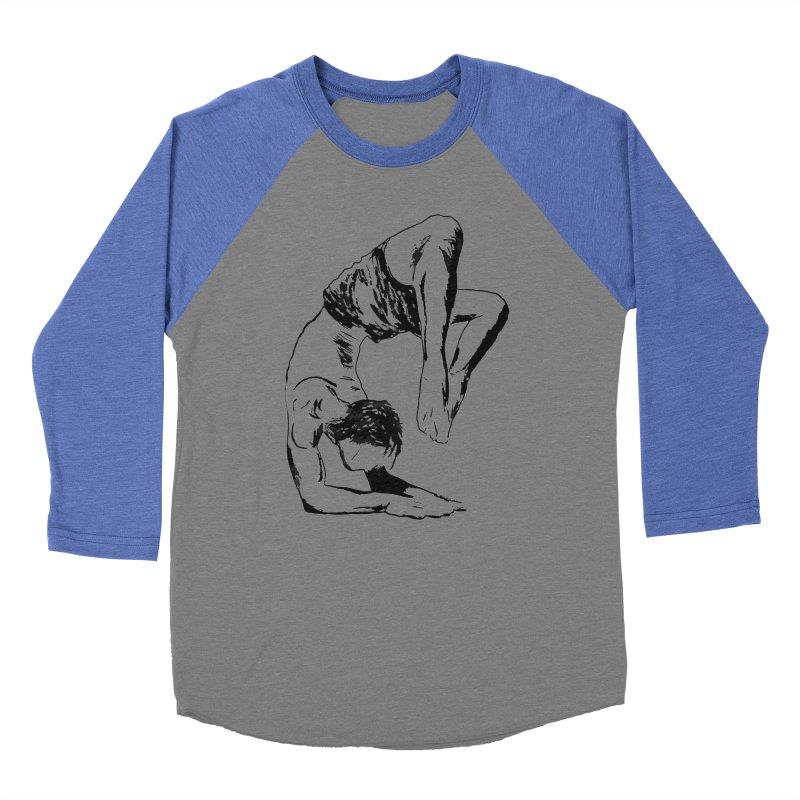 yoga boy Men's Baseball Triblend Longsleeve T-Shirt by sebastiansrd's Artist Shop