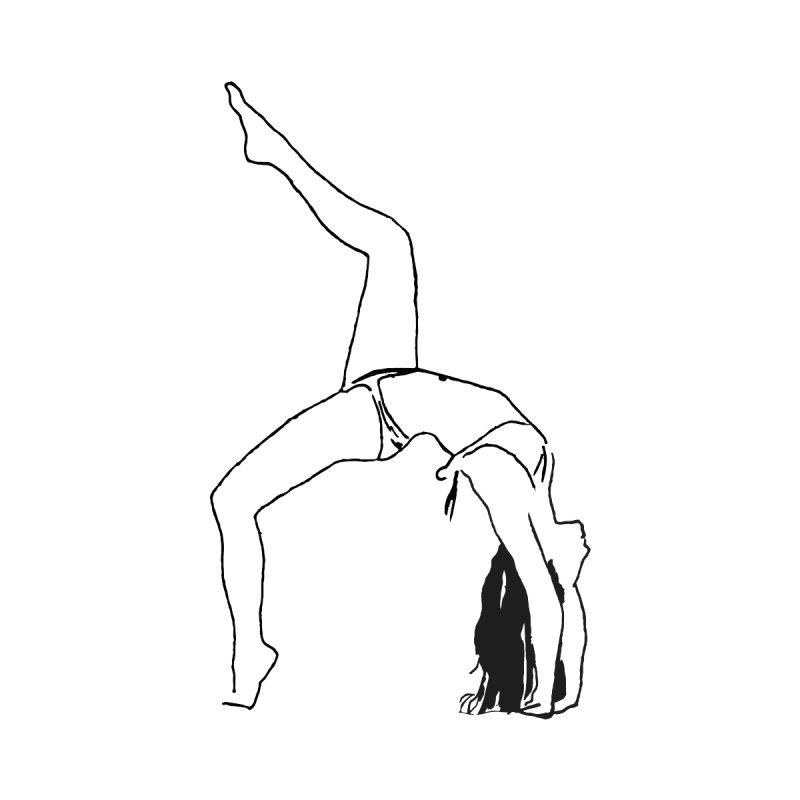 chica haciendo yoga by sebastiansrd's Artist Shop