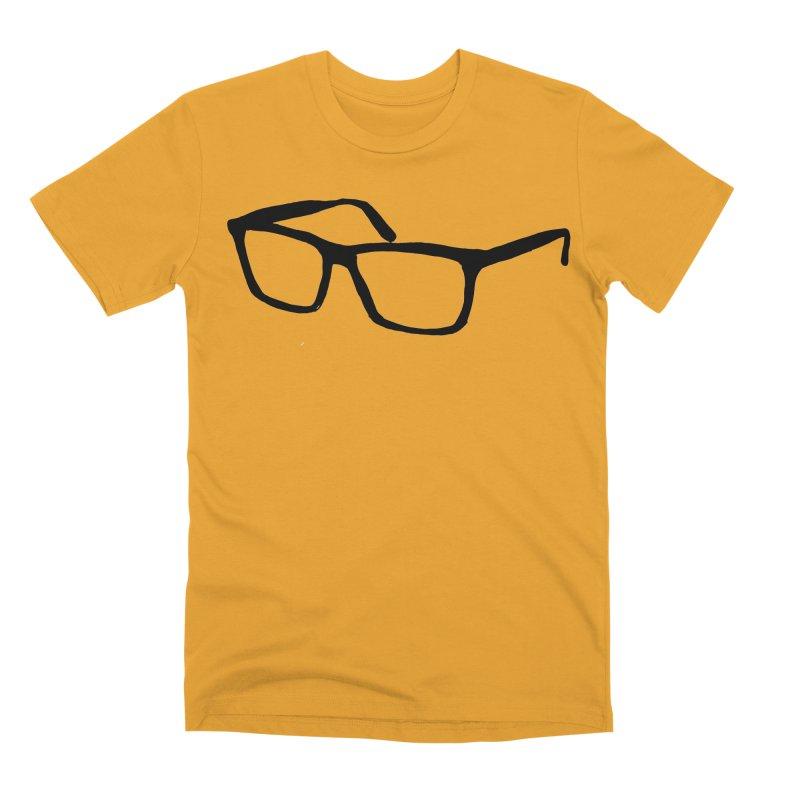 glasses Men's Premium T-Shirt by sebastiansrd's Artist Shop