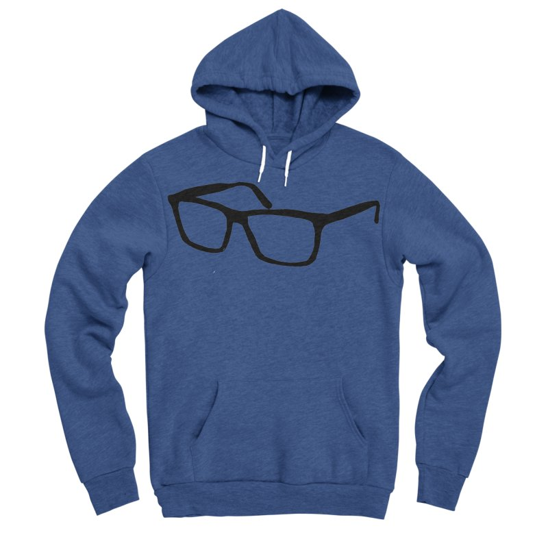 glasses Men's Sponge Fleece Pullover Hoody by sebastiansrd's Artist Shop