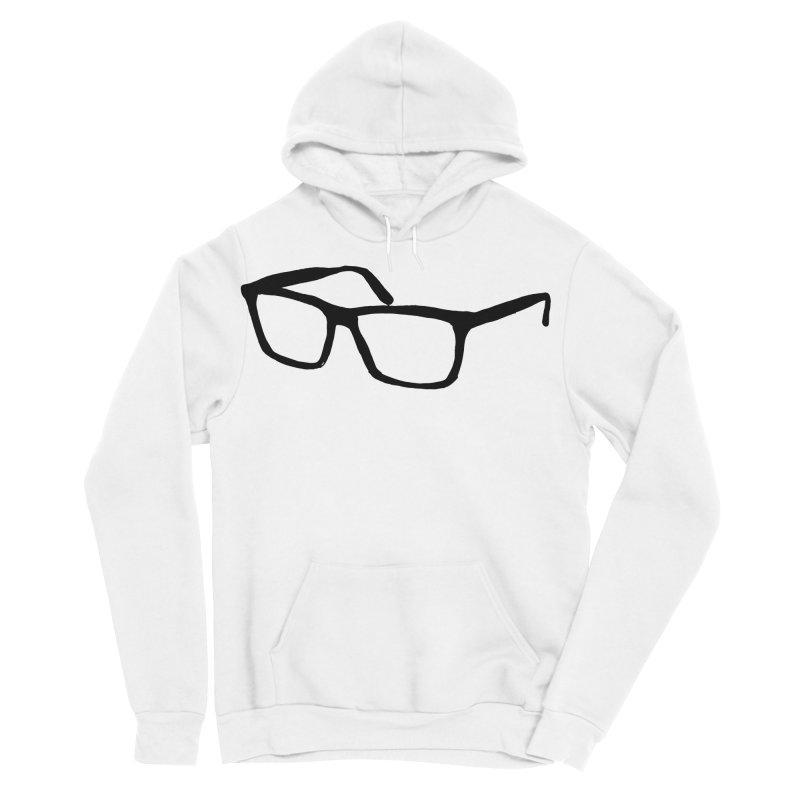 glasses Men's Sponge Fleece Pullover Hoody by sebastiansrd's Artist Shop