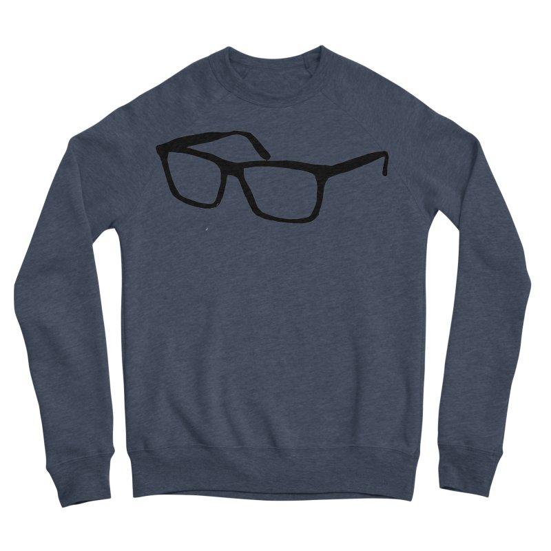 glasses Women's Sponge Fleece Sweatshirt by sebastiansrd's Artist Shop