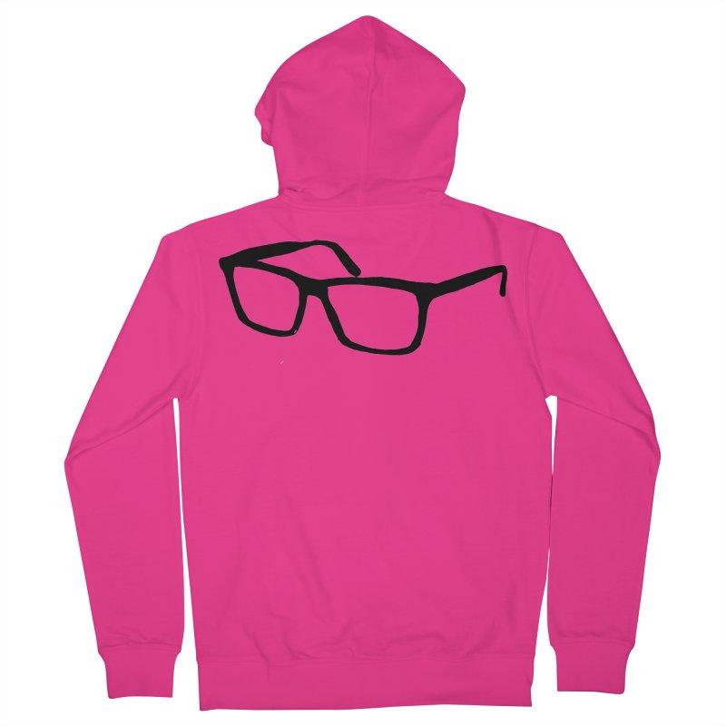 glasses Men's French Terry Zip-Up Hoody by sebastiansrd's Artist Shop