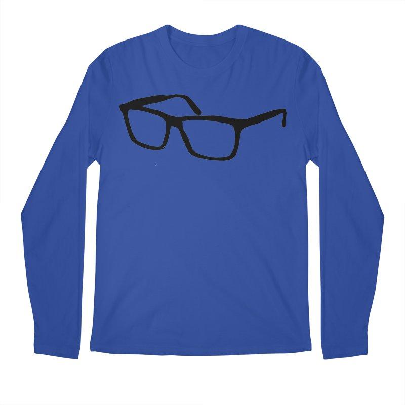 glasses Men's Regular Longsleeve T-Shirt by sebastiansrd's Artist Shop
