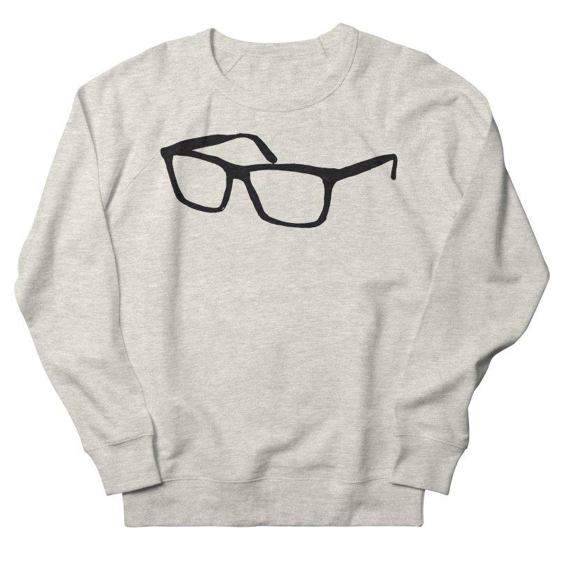 glasses Women's French Terry Sweatshirt by sebastiansrd's Artist Shop