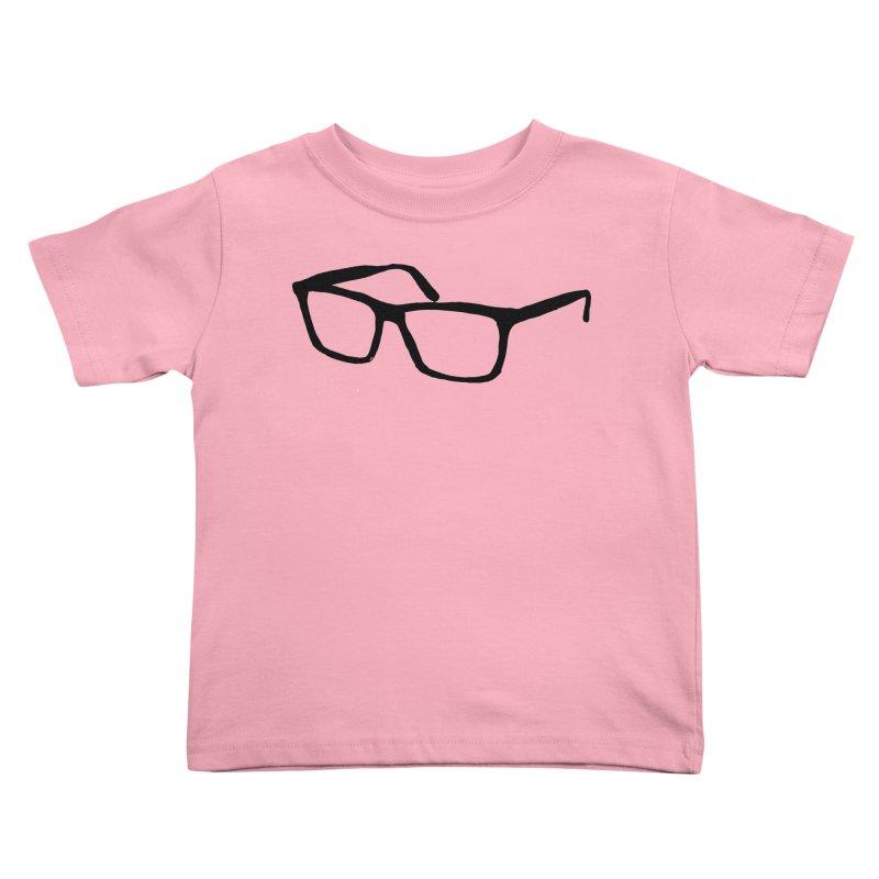 glasses Kids Toddler T-Shirt by sebastiansrd's Artist Shop