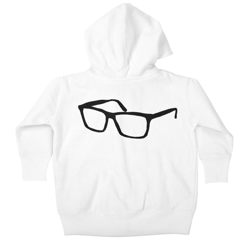 glasses Kids Baby Zip-Up Hoody by sebastiansrd's Artist Shop