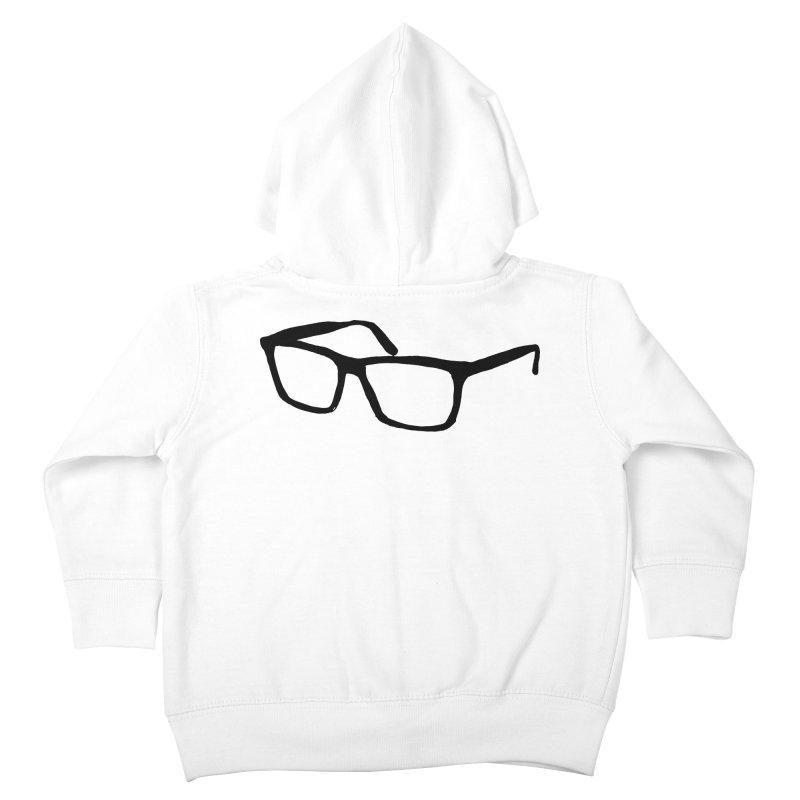 glasses Kids Toddler Zip-Up Hoody by sebastiansrd's Artist Shop