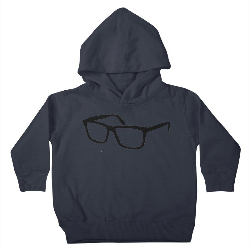 glasses Kids Toddler Pullover Hoody by sebastiansrd's Artist Shop