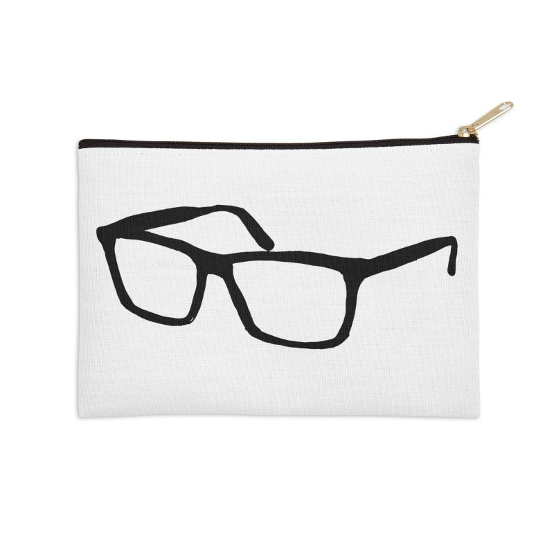 glasses Accessories Zip Pouch by sebastiansrd's Artist Shop