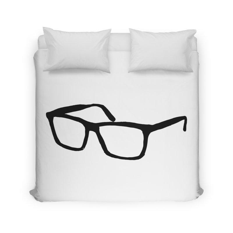 glasses Home Duvet by sebastiansrd's Artist Shop