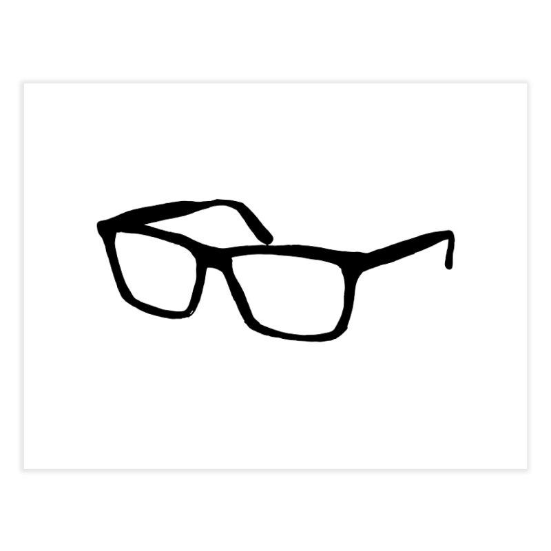 glasses Home Fine Art Print by sebastiansrd's Artist Shop