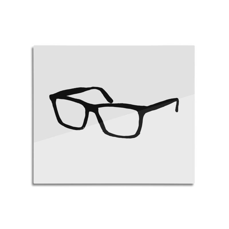 glasses Home Mounted Acrylic Print by sebastiansrd's Artist Shop
