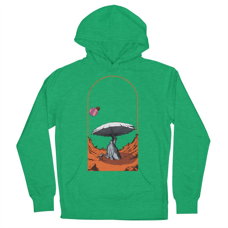 Marooned! Women's Pullover Hoody by Sebastian Illustation's Chop Shop